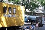 В Кишиневе проводятся ремонтные работы по улице 31 августа 1989.
