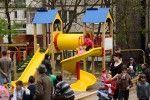 Еще одна детская площадка подверглась разрушению в Кишиневе